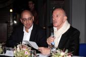 Bill Echikson (Google) & Jean-Paul Deplus (Président du Mundaneum)